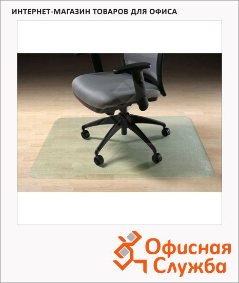 Коврик под кресло Clear Style прямоугольный 910х1210мм, 2мм, для гладкой поверхности, 1602