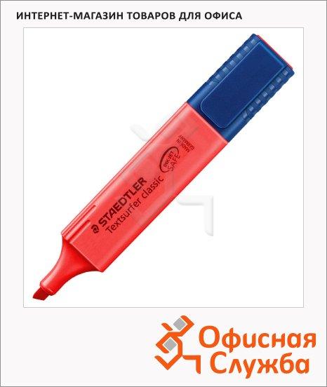 фото: Текстовыделитель Textsurfer Classic Classic 1-5мм, скошенный наконечник, 1-5мм, скошенный наконечник, красный