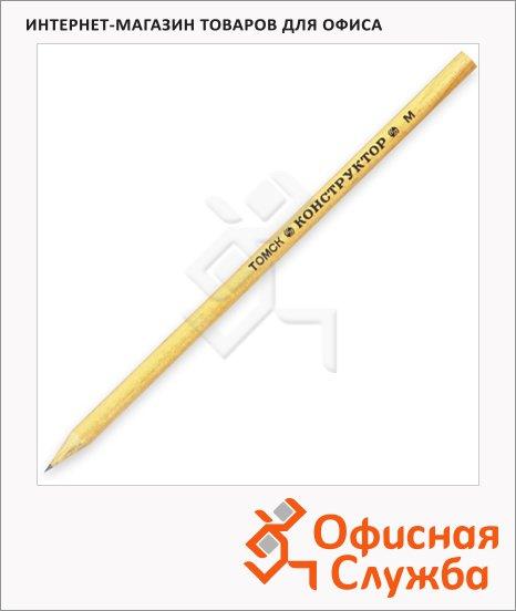 Карандаш чернографитный Сибирская Карандашная Фабрика Конструктор СК006 2B