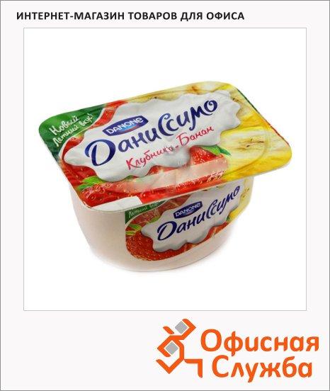 Продукт творожный Даниссимо клубника и банан, 5.4%, 130г