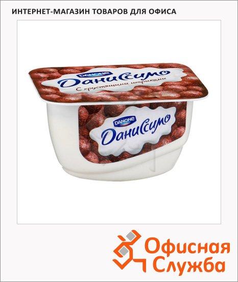 Продукт творожный Даниссимо хрустящие шарики, 7.3%, 130г