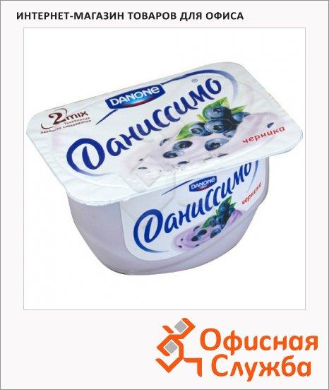 Продукт творожный Даниссимо черника, 130г, 5.5%