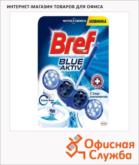 фото: Освежитель для унитаза Bref Blue Activ 50г подвесной блок