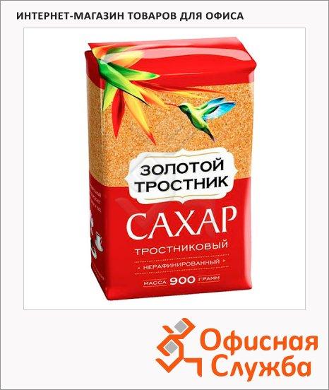 фото: Сахар Золотой Тростник весовой коричневый, 900г