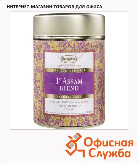 фото: Чай листовой Tea Couture 1st Assam Blend черный, листовой, 100 г