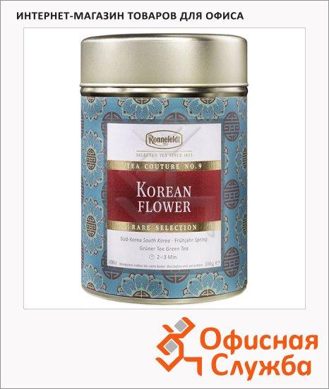 фото: Чай листовой Tea Couture Korean Flower зеленый, листовой, 100 г