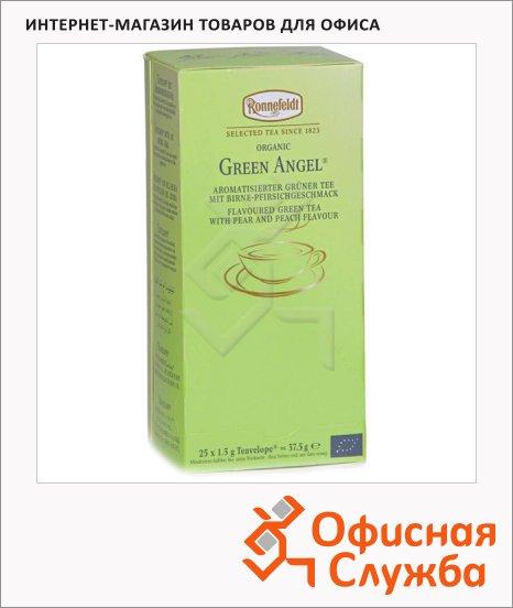 Чай Ronnefeldt Teavelope Green Angel, зеленый, 25 пакетиков