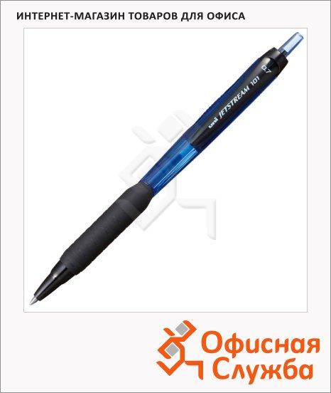 фото: Ручка шариковая автоматическая Jetstream SXN-101 синяя 0.7мм