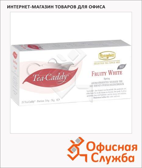 Чай Ronnefeldt Tea-Caddy Fruity White, белый, 20 пакетиков для чайника