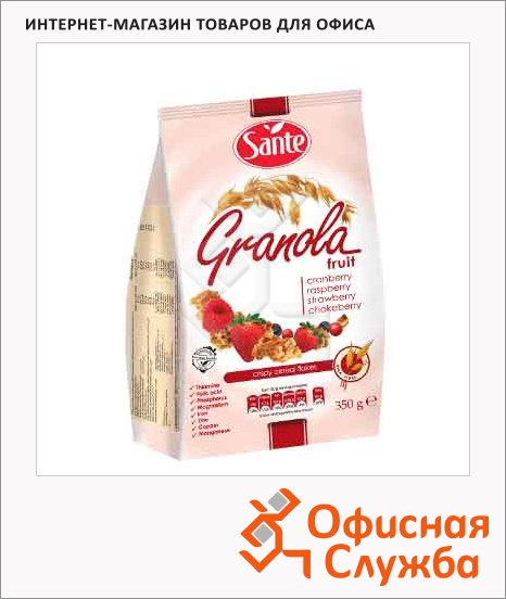 Готовый завтрак Sante ягоды, 350г