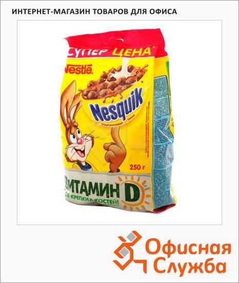 фото: Готовый завтрак Nesquik шоколадные шарики 250г