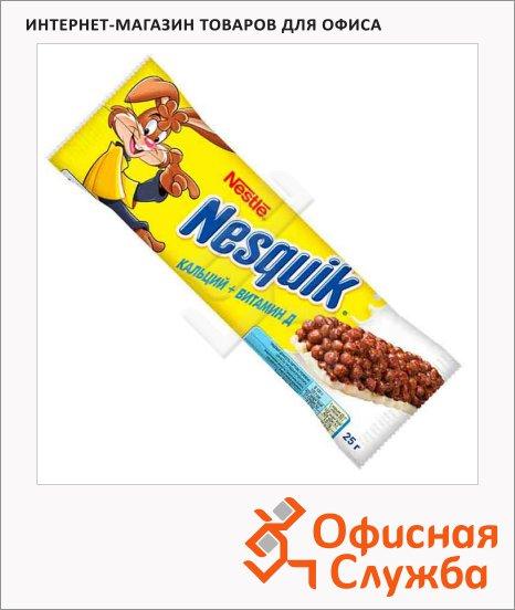 Батончик шоколадный Nesquik с цельными злаками, 25г