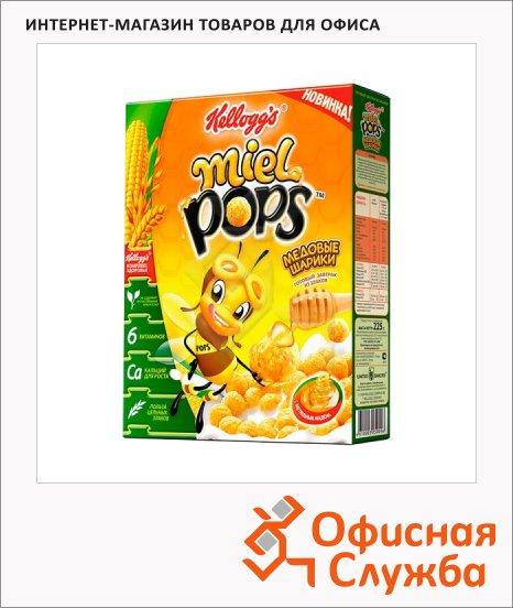 фото: Готовый завтрак Miel Pops медовые шарики 325г