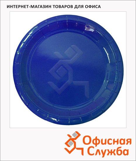 фото: Тарелка одноразовая Horeca синяя d=23см, 50шт/уп