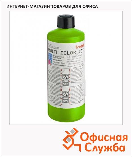 Штемпельная краска на водной основе Trodat Multi Color 500мл, 7012, салатовая