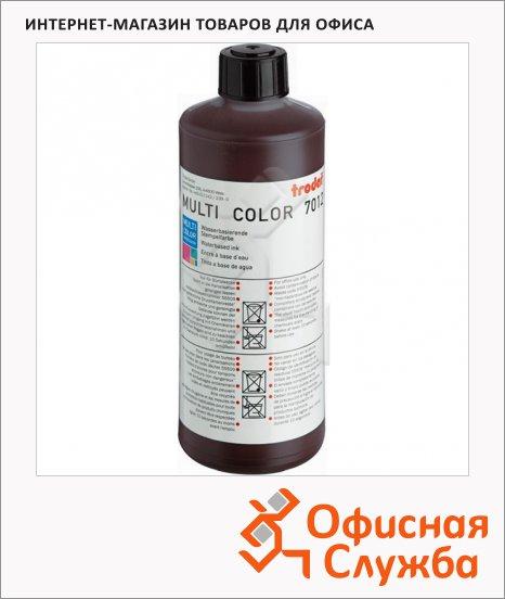 Штемпельная краска на водной основе Trodat Multi Color 1л, 7012, коричневая