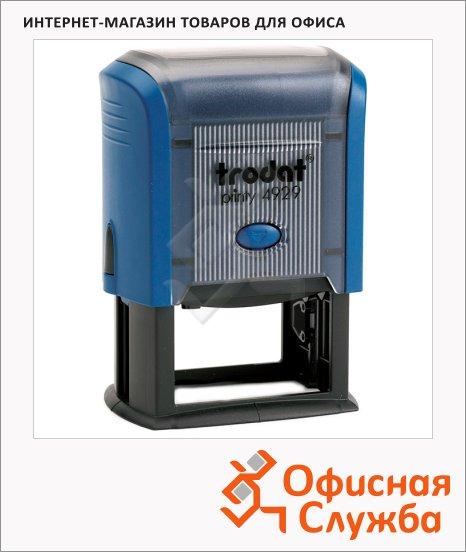 фото: Оснастка для прямоугольной печати Trodat Professional 50х30мм 4929, синяя