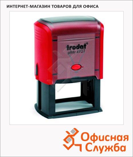 фото: Оснастка для прямоугольной печати Trodat Printy 60х40мм 4927, красная