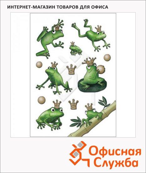 Наклейки декоративные детские Herma Magic Кристалл лягушки