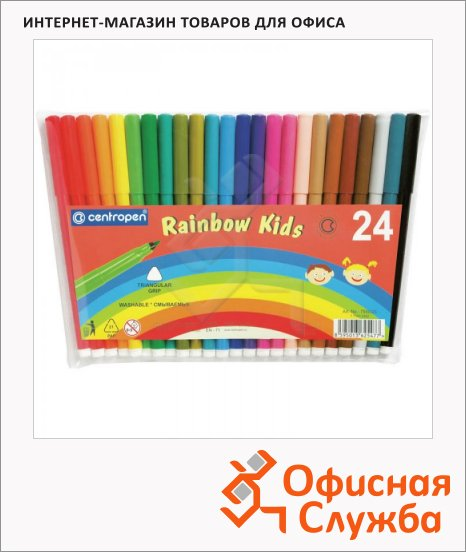 ���������� Centropen Rainbow Kids 24 �����, ���������