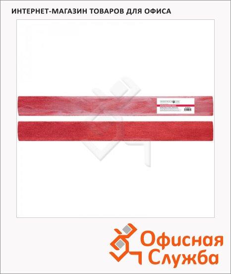 Бумага крепированная Greenwich Line красная, 50х100см, 60 г/м2, металлик