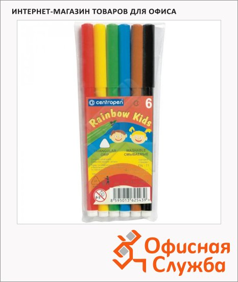 ���������� Centropen Rainbow Kids 6 ������, ���������