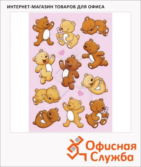 фото: Наклейки декоративные детские Magic Медвежата 16х9см, объемные