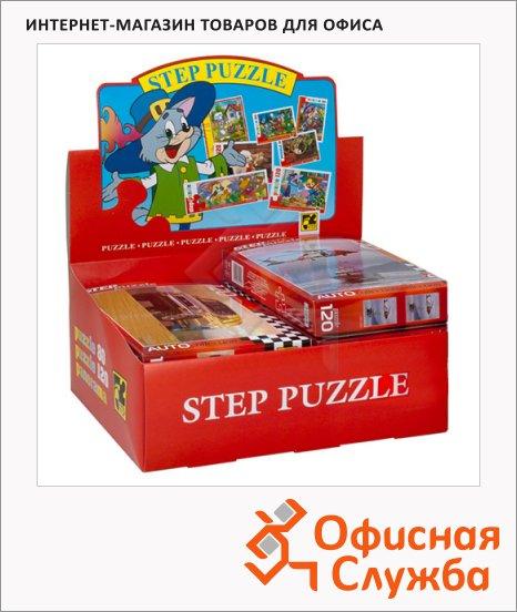 Пазл Step Puzzle Auto Collection Золотая серия в ассортименте, 120 элементов