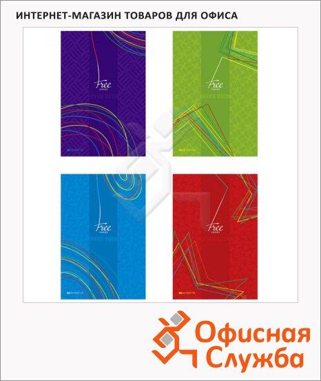 фото: Тетрадь Office book А4, 100 листов, в клетку, на спирали, твердый картон