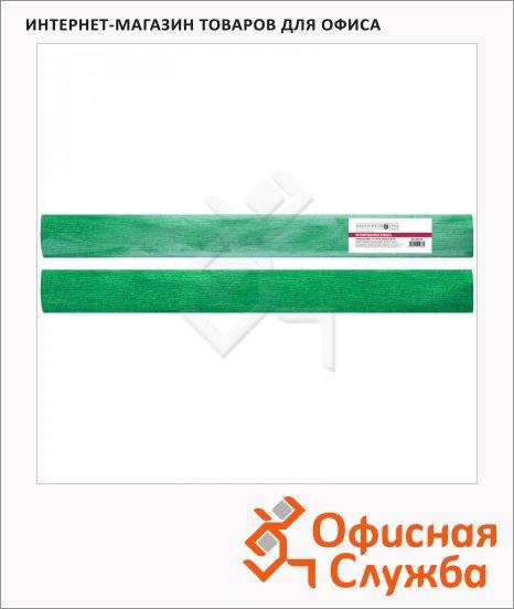 фото: Бумага крепированная Greenwich Line зеленая 50х100см, 60 г/м2, металлик