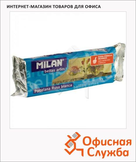 Глина для лепки Milan 500г, белая, вакуумированная