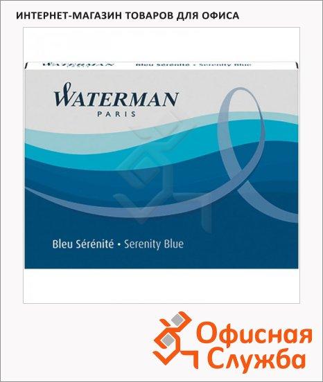 фото: Картридж для перьевой ручки Waterman S0110860 синий