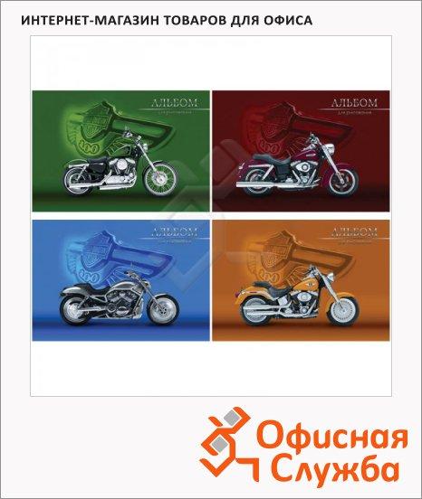 фото: Альбом для рисования Moto Legend А4, 120г/м2, 40 листов, на склейке
