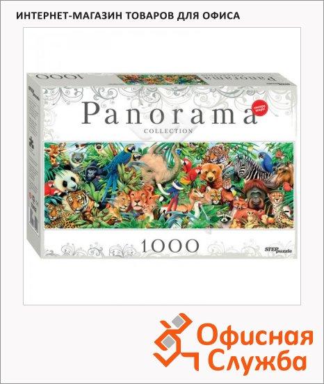 Пазл Step Puzzle Panorama Мир животных, 1000 элементов