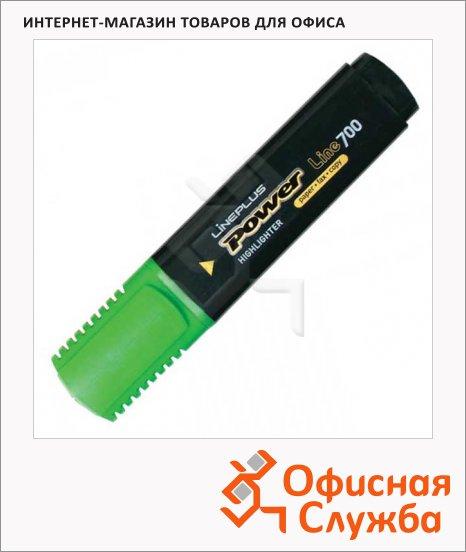 фото: Текстовыделитель Line Plus HI-700C зеленый 1-5мм, скошенный наконечник