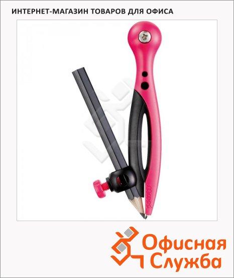 Циркуль Maped Essentials 120мм, пластиковый, безопасная игла, с держателем, + карандаш, 018111
