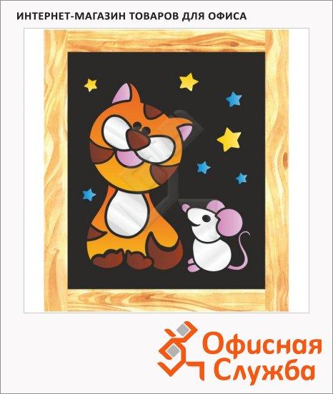 Аппликация фольгой Lori Добрый кот