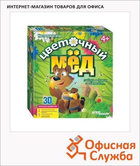 Игра настольная Step Puzzle 3D Цветочный мед