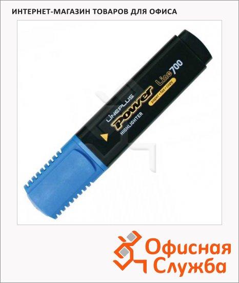 Текстовыделитель Line Plus HI-700C голубой, 1-5мм, скошенный наконечник