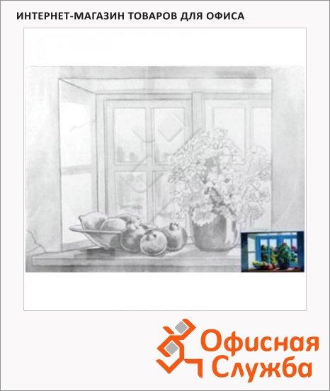 фото: Холст грунтованный Невская Палитра 30х40см с контуром Натюрморт