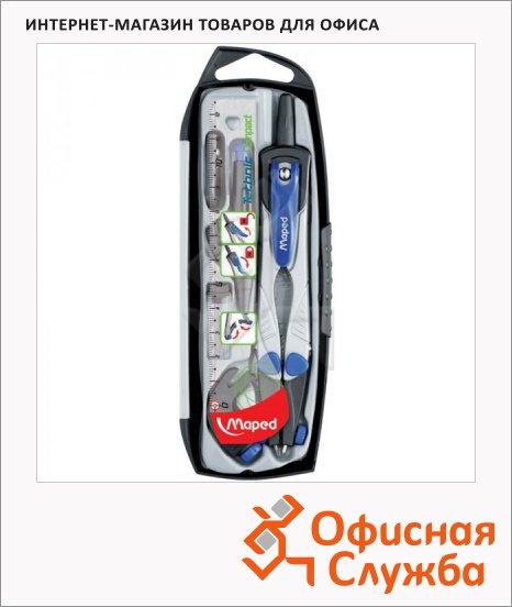 фото: Готовальня Technic Compact 5 предметов циркуль 150мм, пластиковый футляр
