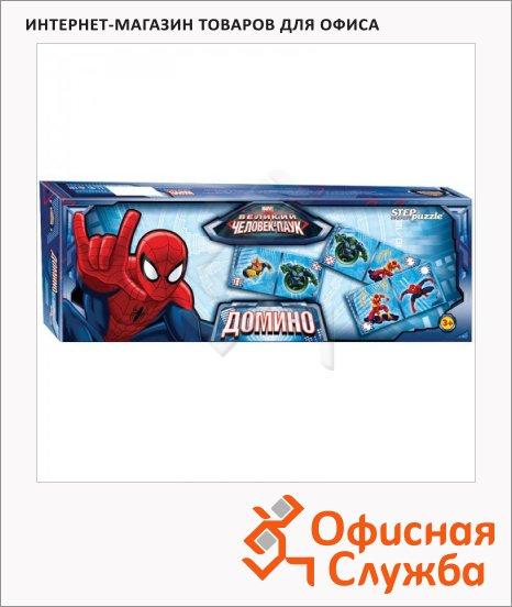 Игра настольная Step Puzzle Домино Человек паук
