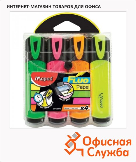 ���������������� Maped Fluo Pep's Classic ����� 4 �����, 1-5��, ��������� ����������