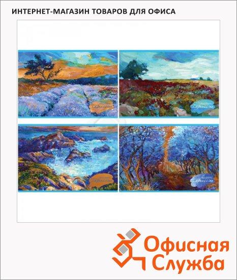 Альбом для рисования Bg Modern impression, А4, 100г/м2, 40 листов, на скрепке