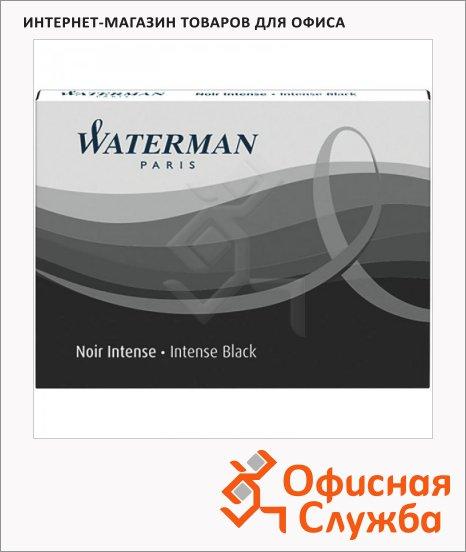 фото: Картридж для перьевой ручки Waterman S0110850 8шт, черный