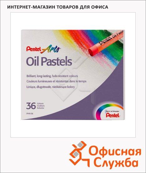 фото: Пастель художественная Pentel Arts Oil Pastels 36 цветов масляная