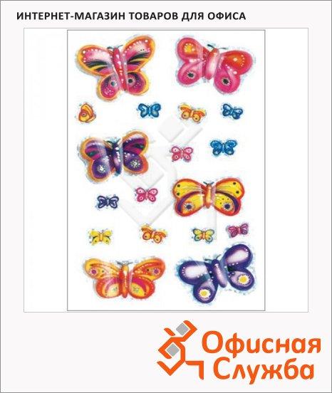 Наклейки декоративные детские Herma Magic 3D Бабочки, 16х9см, объемные