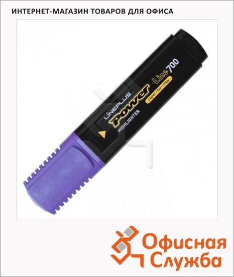Текстовыделитель Line Plus HI-700C фиолетовый, 1-5мм, скошенный наконечник
