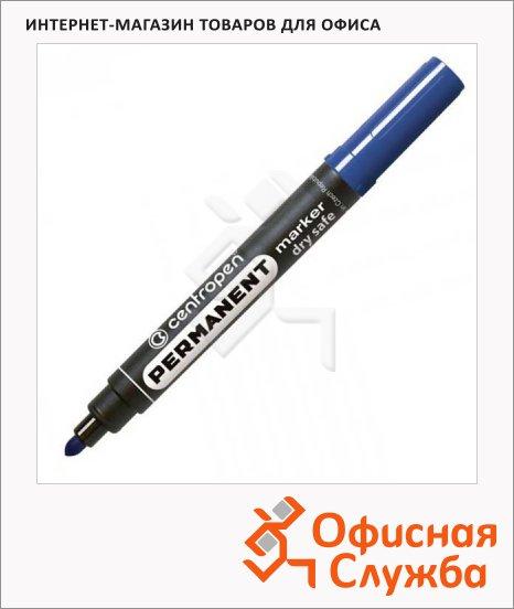 фото: Маркер перманентный Centropen 8510 синий 2.5мм, пулевидный наконечник