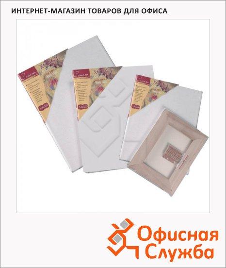 Холст грунтованный Невская Палитра 30x40см, 400 г/м2, лен, среднее зерно